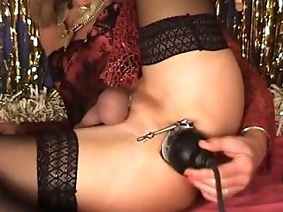 Exotic Amateur Shemale movie with Lingerie, Fetish scenes