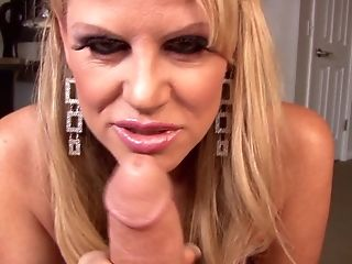 Kelly Madison knows how to make a massive cock rock hard