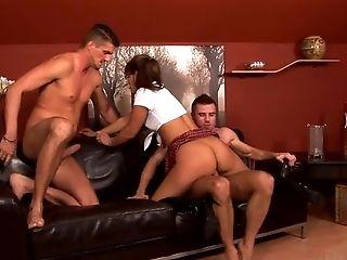 Defrancesca Gallardo likes double penetration