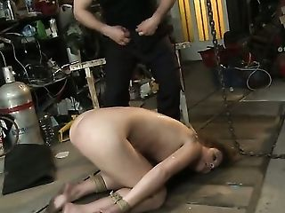 Redhead and horny dude have whole lot of fun in this hardcore action