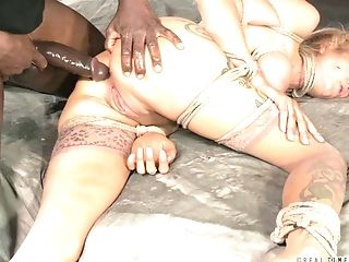 Mature slave's hole fucked hard by randy men who want to make her cum