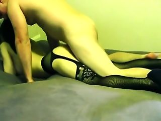 Chinese Slut Wife Dressed Up and Fucked In Bedroom