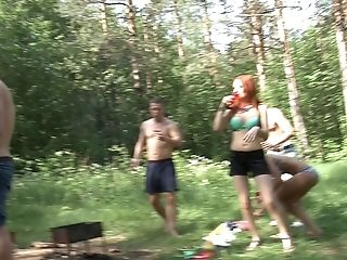 Dominica Phoenix & Eva Berger & Nika Star & Mancy & Rita Rush & Sabrina M  in naked students fucking hard in the outdoors
