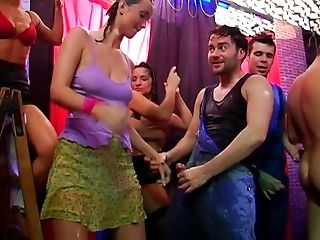 Smutty horny glued girls in sex compilation party hardcore.