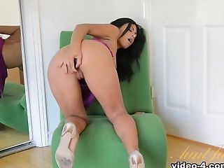 Horny pornstar Cassandra Cruz in Crazy Big Ass, Dildos/Toys sex movie