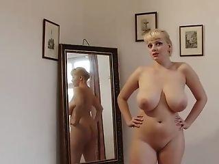BBW, Big Natural Tits, Big Tits, Cute, MILF, Striptease,