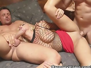Exotic pornstar Breanne Benson in Best Big Tits, DP sex clip