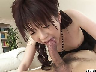 Cute brunette has a fuck of her life