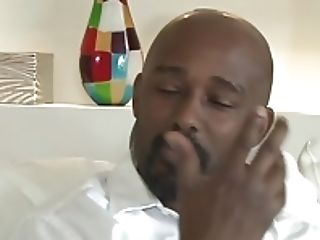Black Stepdad gets in not his New Horny daughter