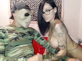 Horny Homemade video with Webcam, Handjob scenes