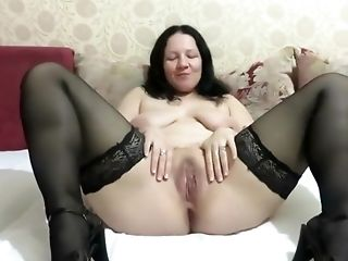 Girl Fucks Ass Toys And Pissing On Camera