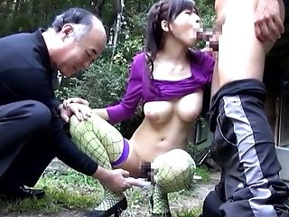 Yuuka Aoba lets men penetrate her pussy and warm mouth