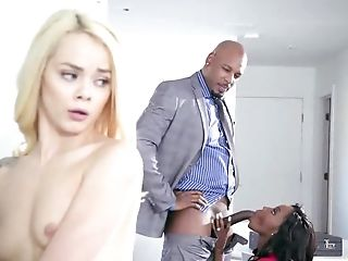 Black male to shag both Elsa Jean and Osa Lovely