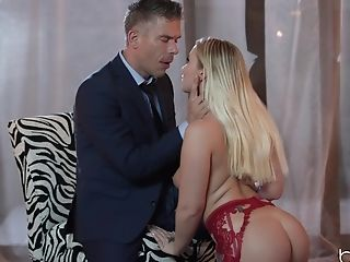Babe, Blonde, Blowjob, Brooke Bailey, Couple, From Behind, Hardcore, Long Hair, Natural Tits, Nylon,