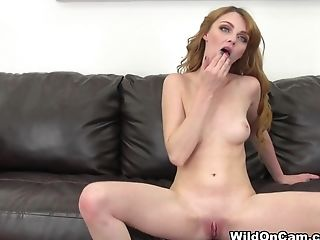 Exotic pornstar Marie McCray in Fabulous Redhead, Skinny porn clip