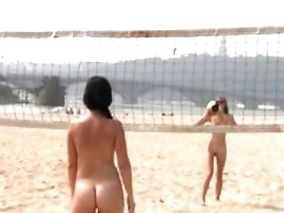 More beach nudist video it is a non nude beach.