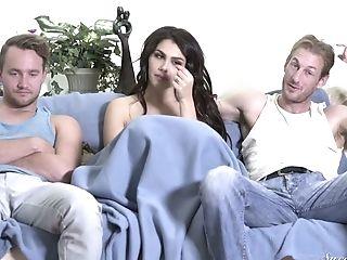 Babe, Beauty, Cuckold, Italian, Pornstar, Reality, Softcore, Threesome, Valentina Nappi, Whore,
