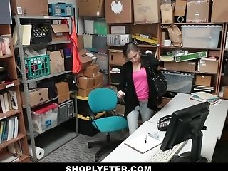 Shoplyfter - Teen Brutally Fucked For Stealing Records