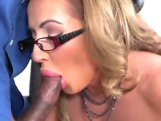 Busty teacher Richelle Ryan gives afterschool lessons