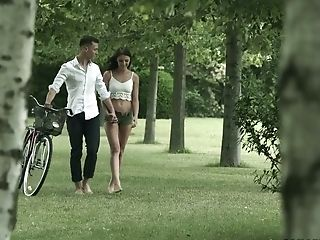 Romantic Czech cowgirl Katy Rose gets analfucked on picnic