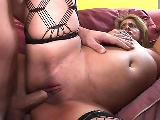 Blonde satisfies guys sexual needs and then gets her pretty face drenched in cum