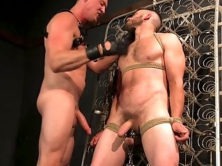 Vander Pulaski loves everything about strong orgasm and gay BDSM