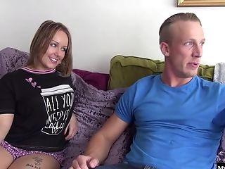 Ashley Rider is a thick, curvy blonde who absolutely adores her boyfriend