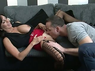 Tara Holiday can seduce any young man and she can fuck even more impressively
